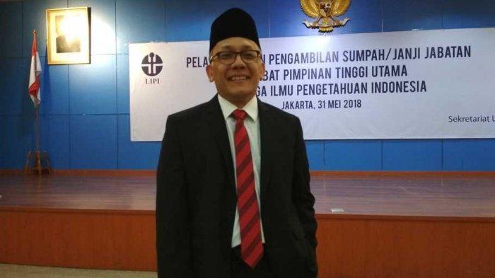 Sosok Laksana Tri Handoko, Kepala LIPI yang Segera Dilantik Presiden Jokowi sebagai Kepala BRIN