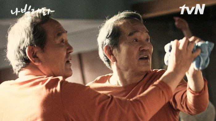 Drama Korea (drakor) Navillera, tayang di Netflix.