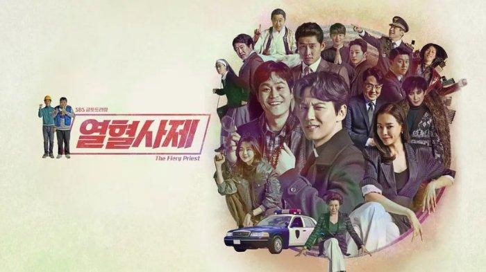 Drama korea (drakor) The Fiery Priest, populer tayang di Netflix.