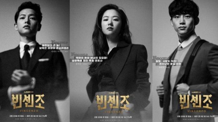 Drama Korea (drakor) Vincenzo dibintangi Song Joong Ki, tayang di Netflix.