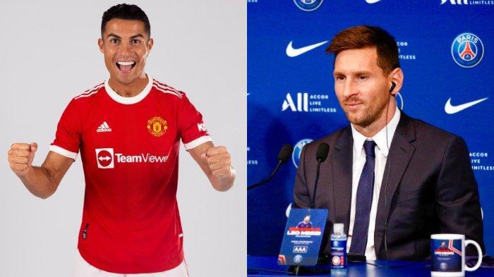 Cristiano Ronaldo Ungguli Messi dalam Daftar Pemain Bola dengan Penghasilan Tertinggi Versi Forbes