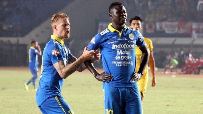 Top Skor Persib Bandung di Liga 1 2017-2020, Siapa Cetak Gol Terbanyak 2 Musim Berturut-turut?