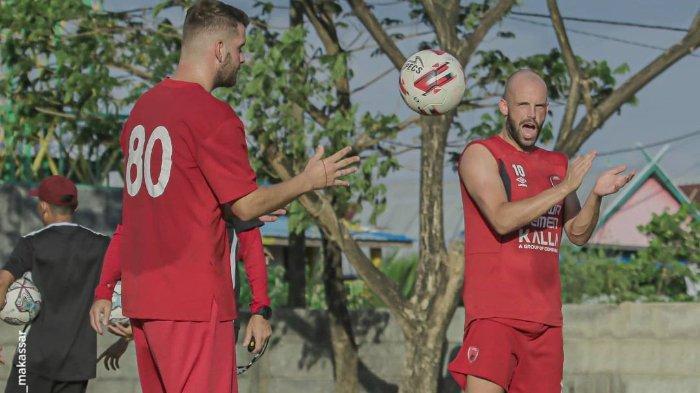 Jelang Lawan Persebaya, Pemain PSM Makassar Anco Jansen Latihan Terpisah, Milo Ungkap Kondisinya