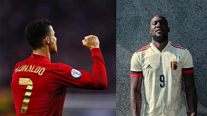 Update Top Skor dan Top Assist Euro 2020, Lukaku Gagal Samai Ronaldo, Patrik Schick Mengancam