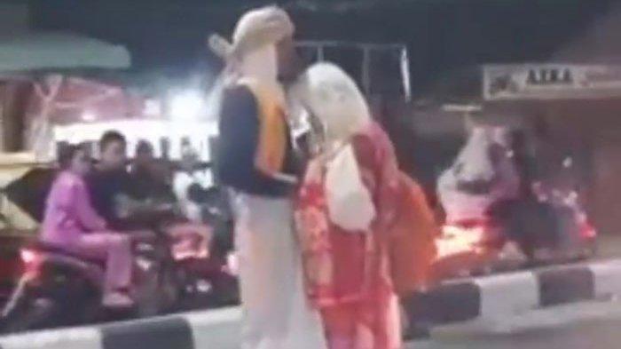 Viral Dua Sejoli Pelukan Tak Mau Lepas di Batubara, Polisi Tegaskan Bukan Gancet Hubungan Badan