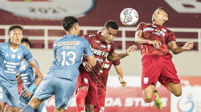 Komentar Pemain dan Pelatih Persis Solo seusai Sambernyawa Bermain Imbang di Derby Mataram