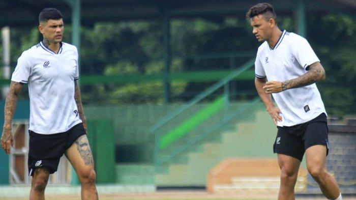 Duet striker Persikabo, Ciro Alves dan Alex Goncalves