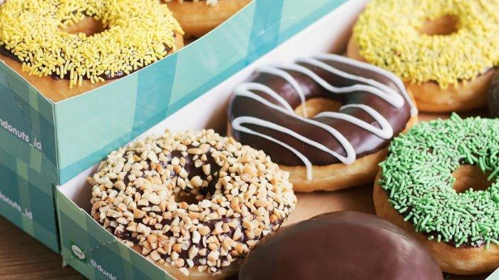 Promo Imlek Dunkin' Donuts 18 Pieces Cuma Rp 88 Ribu dengan Kupon LINE, Cek Ketentuannya