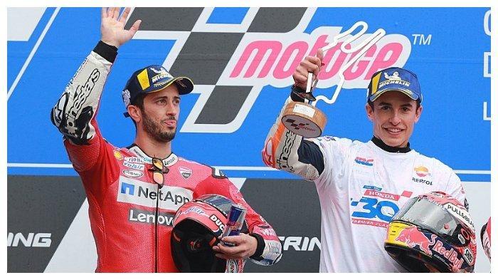 Akui Penampilan Impresif Marc Marquez di MotoGP 2019, Andrea Dovizioso: Kami Sudah Berada di Level