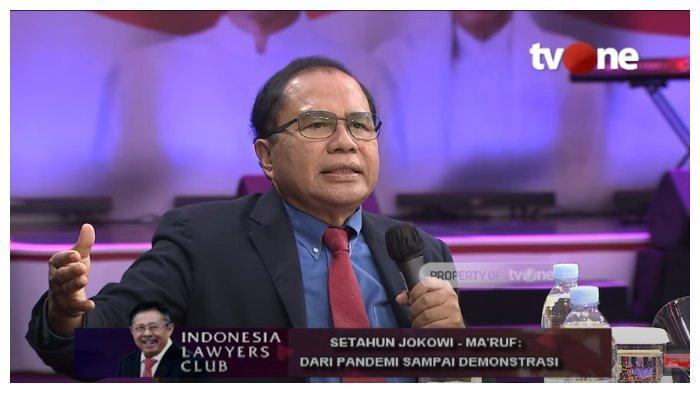 Kritik Pemerintahan Jokowi, Rizal Ramli Pertanyakan Peran Ma'ruf Amin: Antara Ada dan Tiada