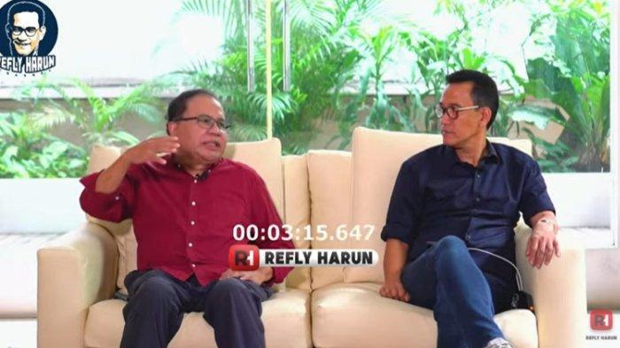 Ekonom senior Rizal Ramli mengungkapkan dirinya pernah ditawari menjadi Ketua Umum Partai Demokrat, Senin (22/3/2021).