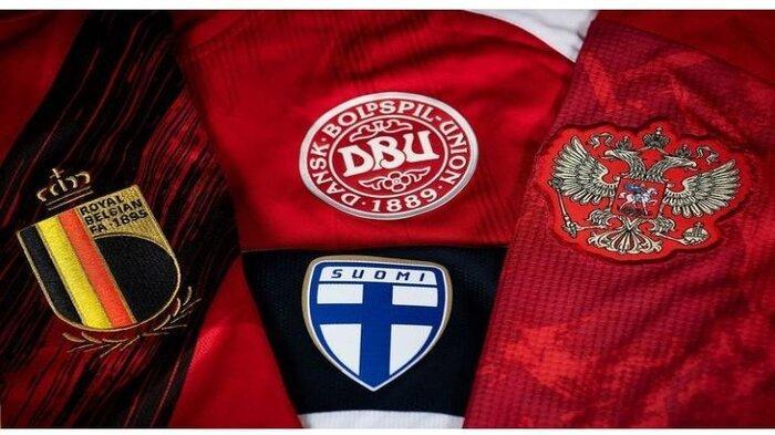 Jadwal dan Klasemen Sementara EURO 2020 Grup B, Finlandia Vs Rusia, Denmark Vs Belgia