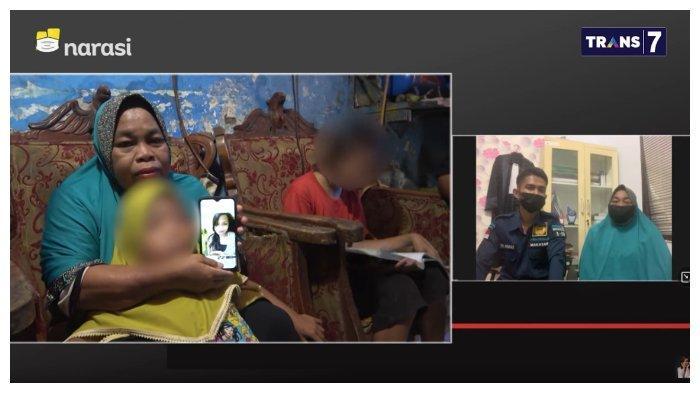 Curhat ibu penjual pisang epe asal Makassar, Herdiyanti, yang divonis 5 tahun 3 penjara atas kasus penyalahgunaan narkotika, di Mata Najwa, Rabu (4/8/2021).