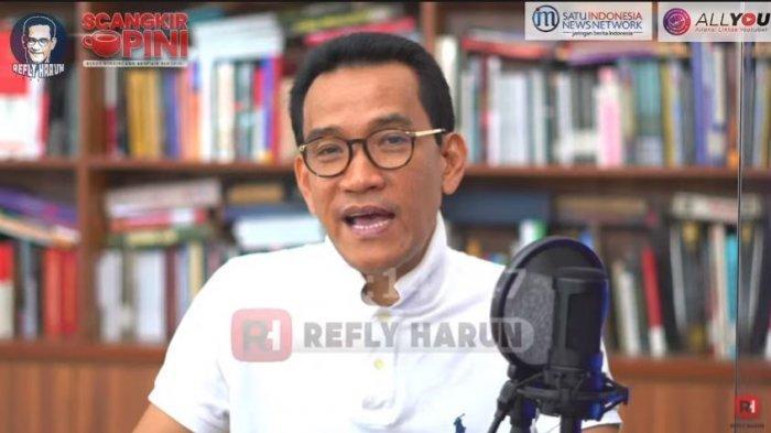 Saat BEM UGM Sebut Jokowi Presiden Orde Paling Baru, Refly Harun: Memang Tidak Enak Jadi Presiden