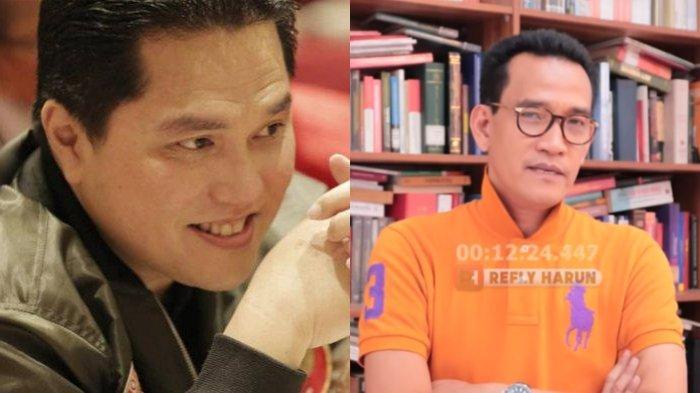 Soal Rangkap Jabatan Rektor UI, Refly Harun Soroti Peran Erick Thohir: Padahal 2 Jabatan di 1 Tangan
