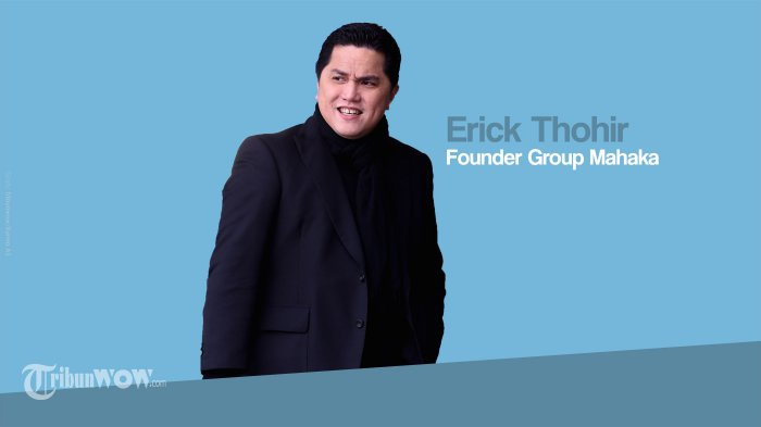 Setelah Disuspensi BEI, Saham Perusahaan Milik Erick Thohir Kembali Diperdagangkan Hari Ini