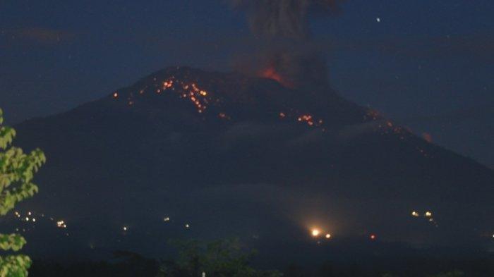 Gunung Agung Bali Kembali Erupsi, Jumat 24 Mei 2019, Sudah Tiga Kali Setiap enam Hari