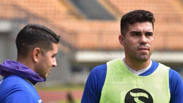 Kesan Fabiano Beltrame di Latihan Perdananya Bersama Persib Bandung, Lahap Semua Sesi Latihan