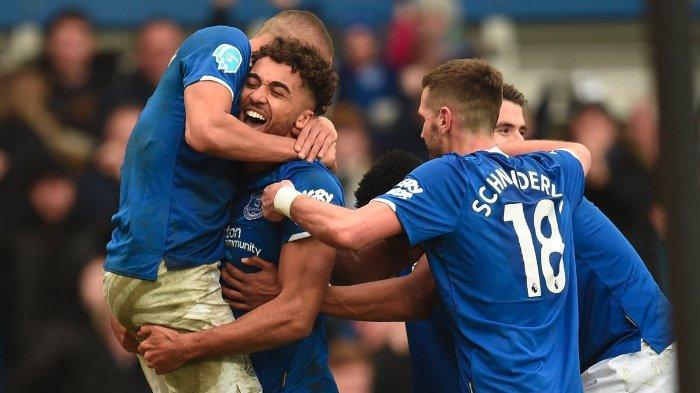 Hasil dan Klasemen Liga Inggris: Kalahkan Crystal Palace, Everton Salip Manchester United