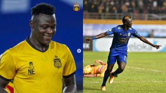 Bhayangkara FC Vs Persib Bandung, Laga Sarat Emosi bagi Bomber The Guardian Ezechiel Ndouasel