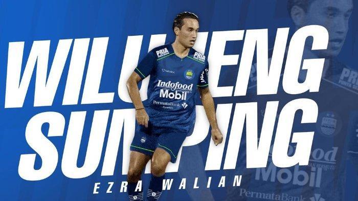 Foto Sambutan Kedatangan Ezra Walian ke Persib Bandung dalam postingan Instagram 14 Maret 2021, Persib Bandung Berikan Kontrak Ezra Walian 3 Tahun,  6 Pemain Lainnya Hengkang.