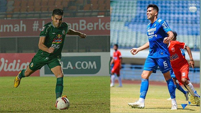 Fabiano Beltrame pada postingan Instagram @fabianobeltrame15 pada 13 April 2021 (kiri) dan 4 Januari 2021 (kanan). Mantan bek Persib Bandung yang bermain gemilang dengan PSS Sleman di Piala Menpora 2021.