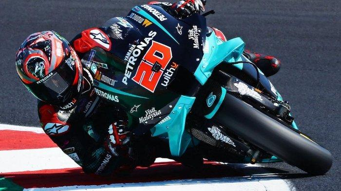 Link Live Streaming MotoGP Spanyol 2021 di Sirkuit Jerez Pukul 19.00 WIB: Quartararo Pole Position
