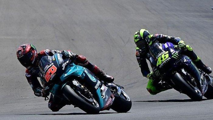Diminta Bantu Fabio Quartararo Juarai MotoGP 2020, Begini Respons Valentino Rossi: Lihat Saja Nanti