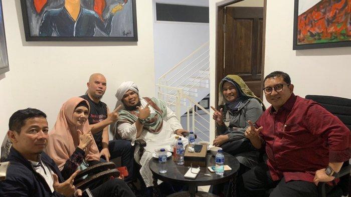 Lirik Lagu 'Tangan Besi' oleh Fadli Zon dkk, Bercerita Soal Persekusi Deklarasi 2019GantiPresiden