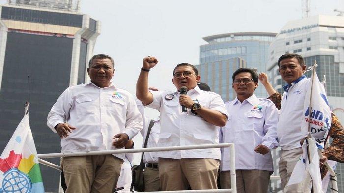 Orasi Politik Bersama KSPI, Fadli Zon: Prabowo Berkomitmen Membela Buruh