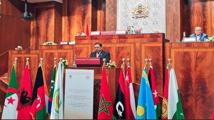 Fadli Zon Sebut Delegasi DPR RI Berhasil Masukkan Isu Muslim Uighur di Draft Resolusi PUIC di Maroko