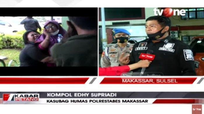 Kasubag Humas Polrestabes Makassar Kompol Edhy Supriadi mengungkap fakta penganiayaan yang dilakukan residivis DL terhadap keluarganya sendiri, dalam Kabar Petang, Jumat (23/10/2020).