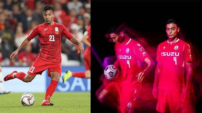 Farkhat Musabekov (kiri) pada postingan Instagram @musabekov21 pada 12 Desember 2019 dan Kota Kawase (kanan) pada postingan Instagram @kotakawase4 pada 17 Maret 2021. Dua pemain yang santer akan memperkuat Persib Bandung.