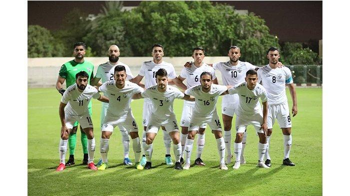Skuat Timnas Afganistan kontra Timnas Indonesia pada postingan Instagram @theaffofficial pada 26 Mei 2021. Farshad Noor jadi kapten Timnas Afganistan.