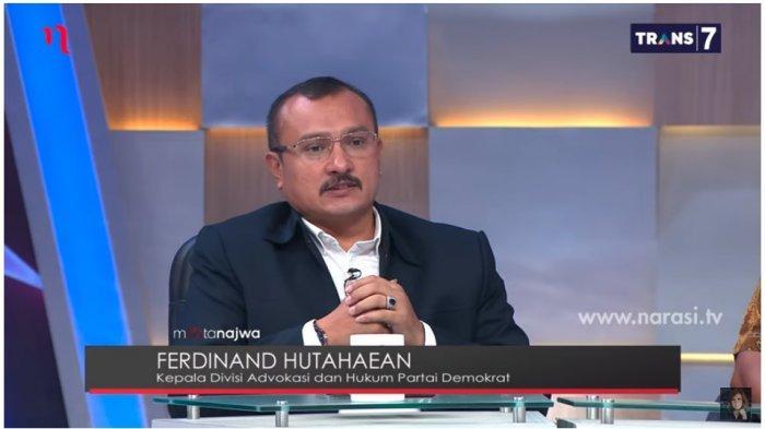 Ditanya Kemungkinan Demokrat Gabung Koalisi Jokowi-Ma'ruf, Ferdinand: Tentu akan Dipertimbangkan