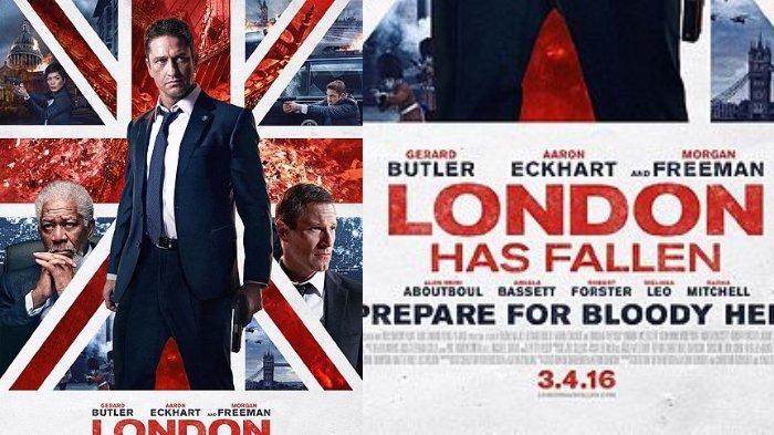 Sinopsis Film 'London Has Fallen' Genre Aksi Laga, Tayang di Bioskop TRANS TV Hari Ini Jam 21.30 WIB