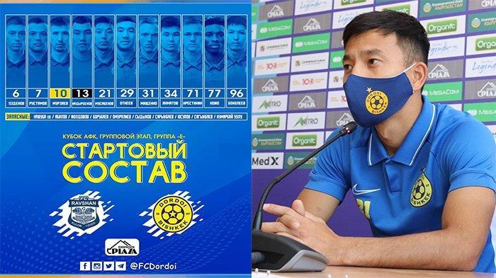 Tampil Starter, Pemain Incaran Persib Bandung Lakoni Laga Kedua di Piala AFC Kontra Ravshan Kulob