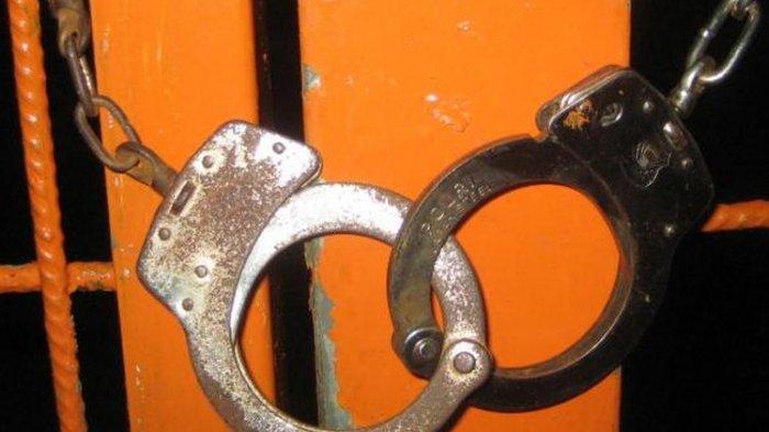Foto ilustrasi tahanan penjara.