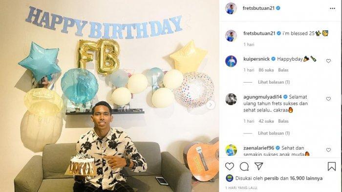 Punggawa Persib Bandung Frets Butuan Ulang Tahun, Nick Kuipers hingga Farshad Noor Beri Selamat