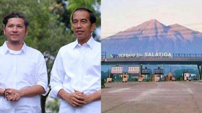 Gading Marten Ucapkan Terima Kasih ke Jokowi, Gerbang Tol Kampung Halamannya Jadi yang Terindah
