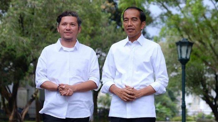 Jawaban Jokowi saat Ditanya Gading Marten Berapa Jumlah Kemeja Putih di Lemarinya
