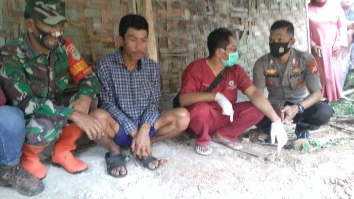 Galian penemuan mayat korban diduga korban pembunuhan di Cikidang Sukabumi.