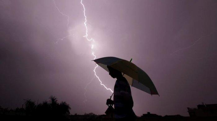 Peringatan Dini BMKG Hari Ini Jumat 23 Juli 2021: 9 Wilayah Ini Waspada Cuaca Ekstrem Hujan Lebat