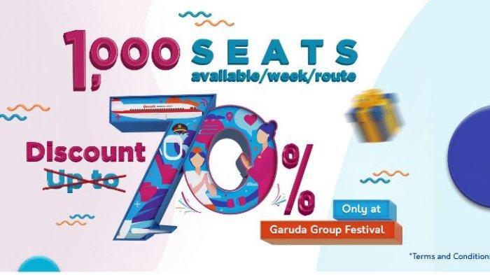 Garuda Indonesia Beri Diskon 70% untuk Peringati Ulang Tahun ke-70, Cek Syarat dan Rute-nya!