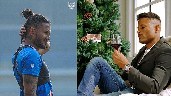 Wander Luiz (kiri) pada postingan Instagram @persib pada 24 Mei 2021 dan Wander Luiz (kanan) pada postingan Instagram @wanderluiiz_ pada 4 Oktober 2020. Perubahan gaya rambut Wander Luiz.