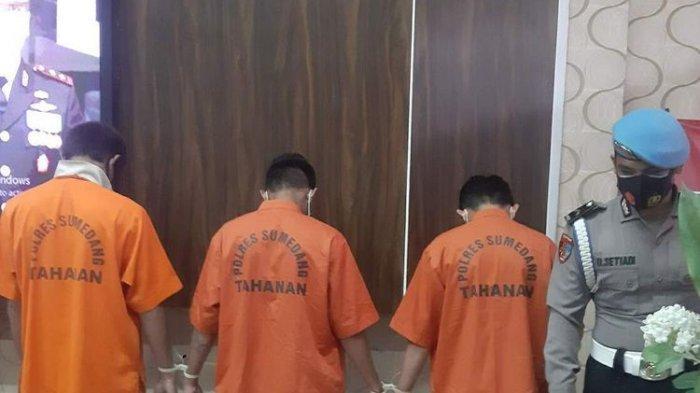 Tiga pelaku bentrok antar geng motor hingga menyebabkan satu orang tewas ditangkap Polres Sumedang, satu lainnya masih buron.