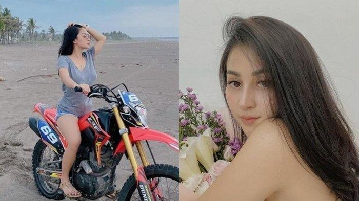 Sosok Ghina Kamilla Pemeran Risa di Sinetron Preman Pensiun, Hobi Motor Trail, Lihat Foto-fotonya