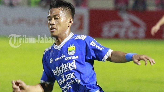 Pemain Persib Bandung Ghozali Siregar.