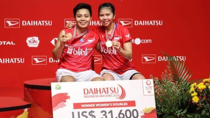 Hasil Final Badminton Olimpiade Tokyo 2020, Greysia Polii/Apriyani Rahayu Berhasil Raih Emas