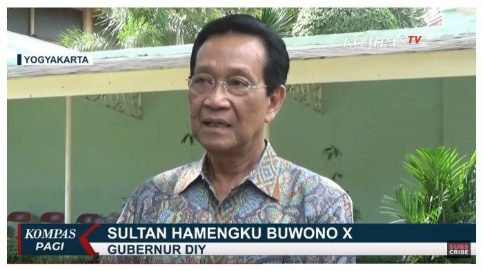 Antisipasi Penyebaran Virus Corona, Gubernur DIY Sri Sultan Minta Jokowi Buka Data Daerah Zona Merah